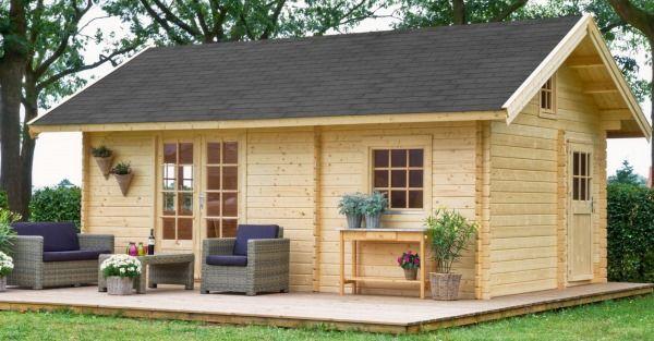 Van Kooten tuinkantoor-houten tuinhuis - Product in beeld - Startpagina voor tuin ideeën | UW-tuin.nl