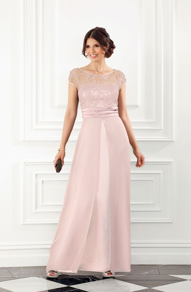 8 best mrk ongoing bridesmaids images on pinterest order and sizes 6 26 pink plush lace bodice bridesmaid dress in pearl colour with long ombrellifo Gallery
