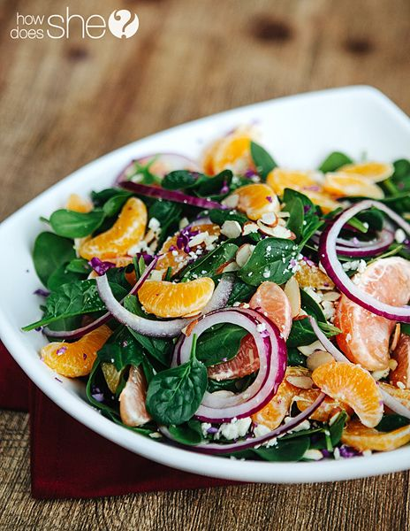 Winter Citrus Salad | How Does She | for Lani | Pinterest