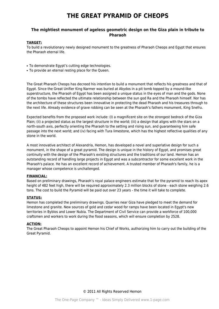 one page proposal riley pdf