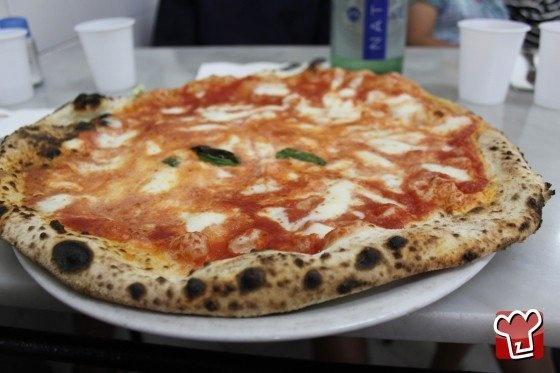 The original Pizza Napoli, from Antica Pizzeria da Michele, a Napoli
