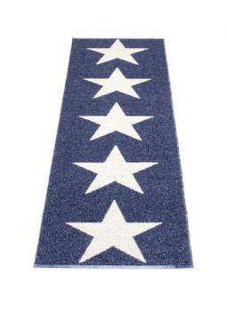 Vloerkleed ViggoS 70x250 m.blue