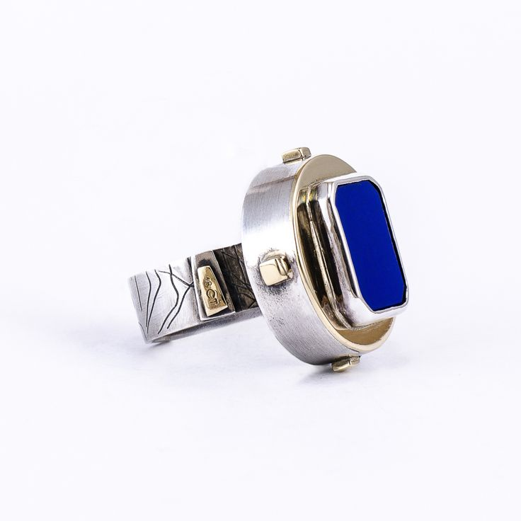 The Queen's Ring Prized throughout history, the deep, celestial blue of the lapis lazuli has always been associated with royalty and has rich artistic and spiritual associations.