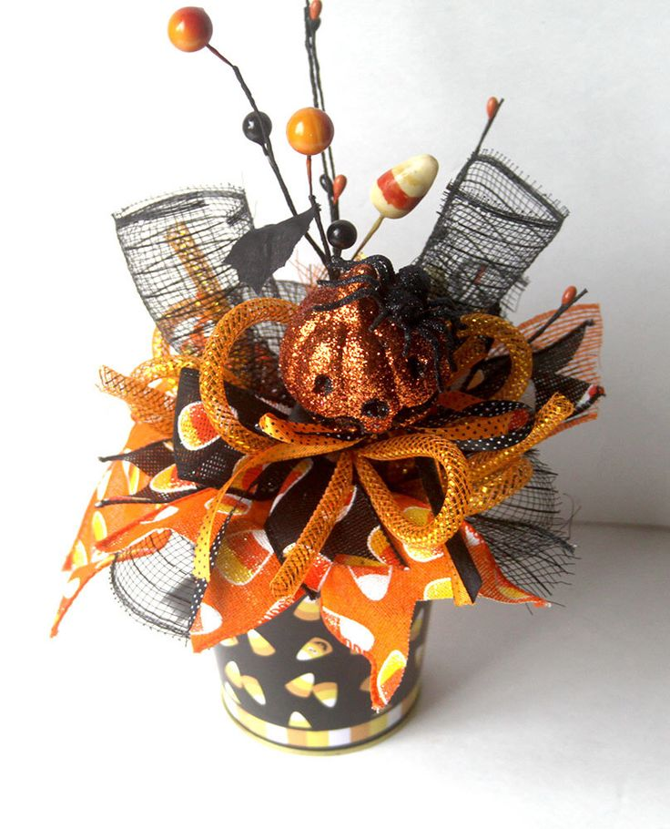 halloween arrangement halloween decor halloween party decorations spooky arrangements halloween decorations - Halloween Centerpieces