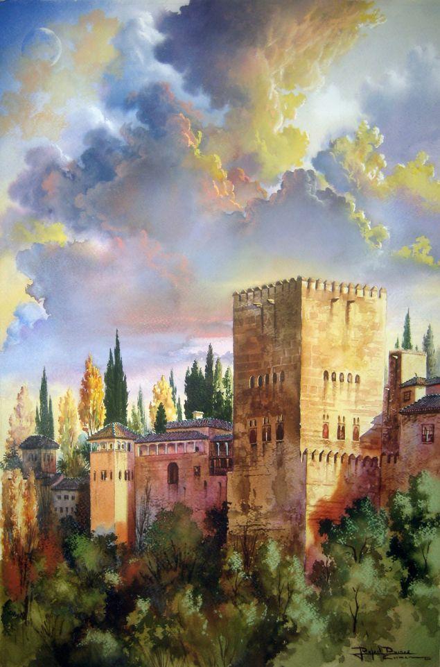 Rafael Dueñas: Visiones oníricas de la Alhambra