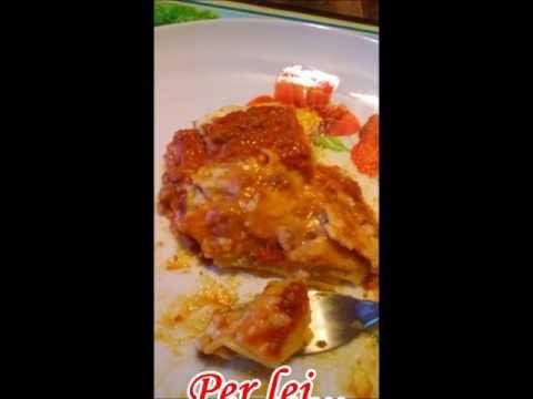 La lasagna : BUON APPETITO