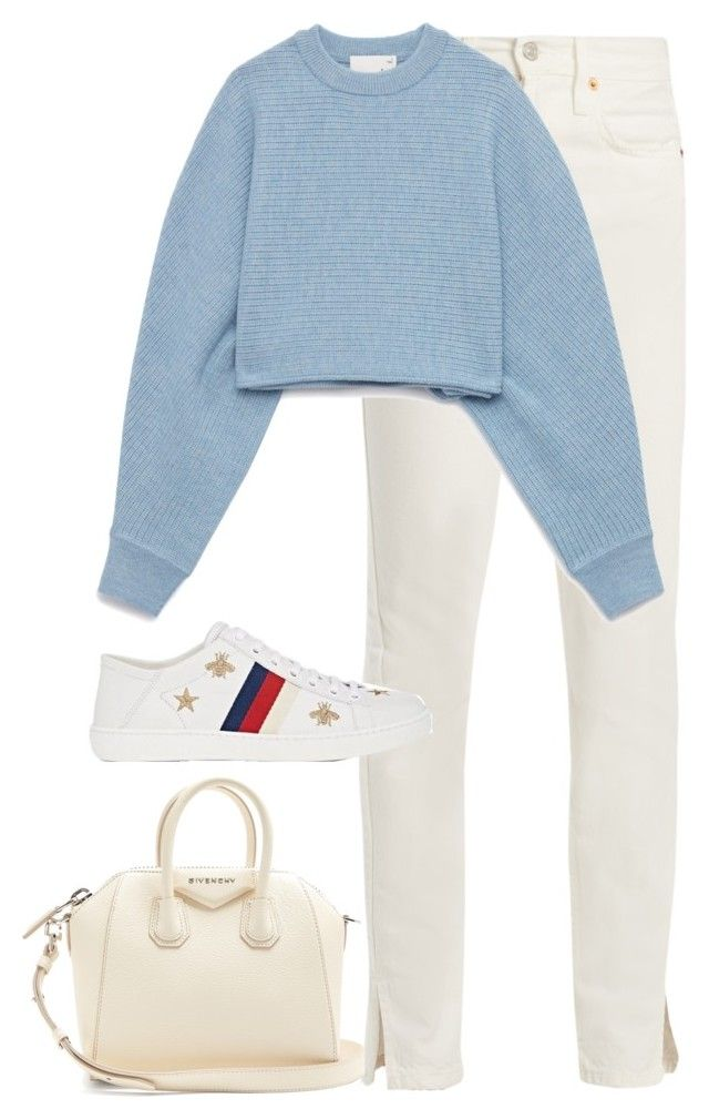"""Untitled #4553"" by magsmccray on Polyvore featuring RE/DONE, Gucci and Givenchy"