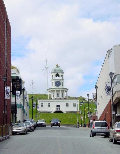 Halifax Town Clock of Halifax