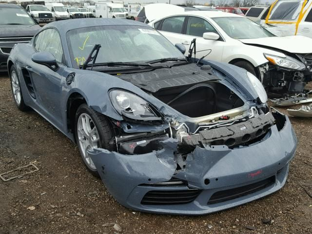 Salvage 2018 Porsche Cayman  Coupe For Sale   Salvage Title
