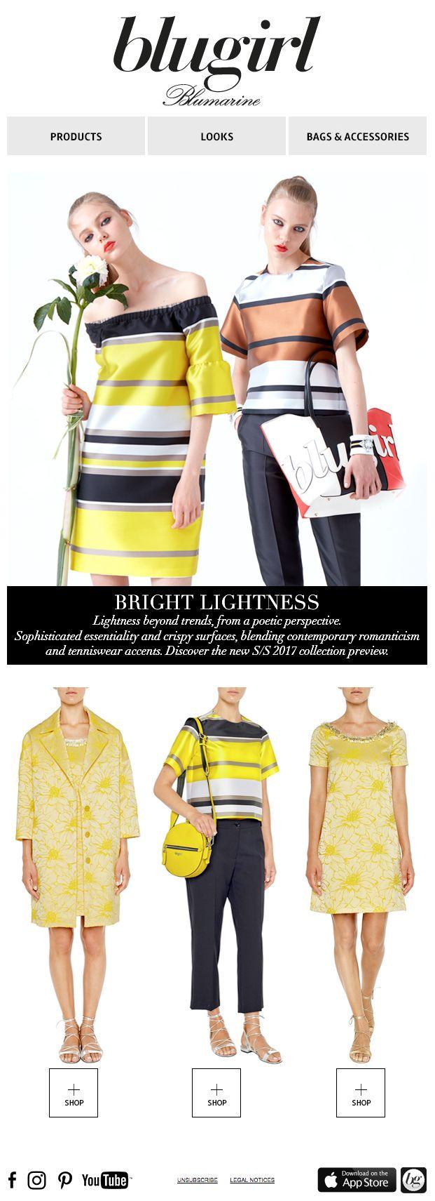 Bright Lightness • Blugirl Spring Summer 2017 Collection