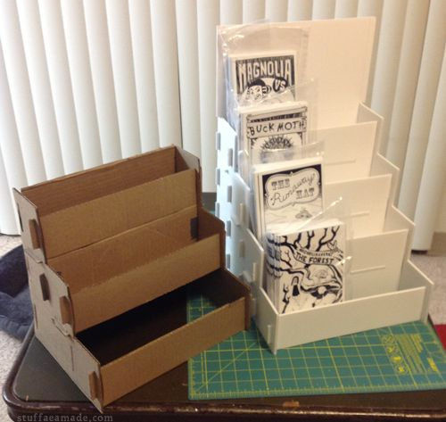DIY Comic Rack