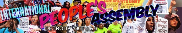 International Peoples Assembly Against the Banks and Austerity