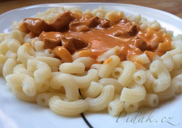 Píďák.cz - Recept - Kuře na paprice - fofrovka