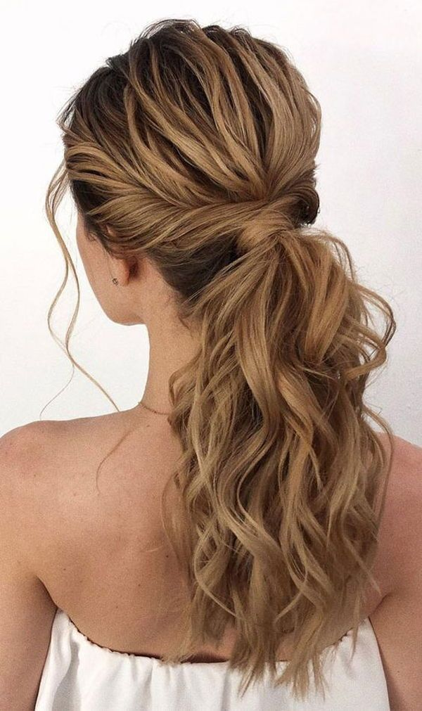 36 Comfy Hairstyles Ideas For Work You Must Try Cute Ponytail Hairstyles Fall Hair Color Trends Perfect Hair Color