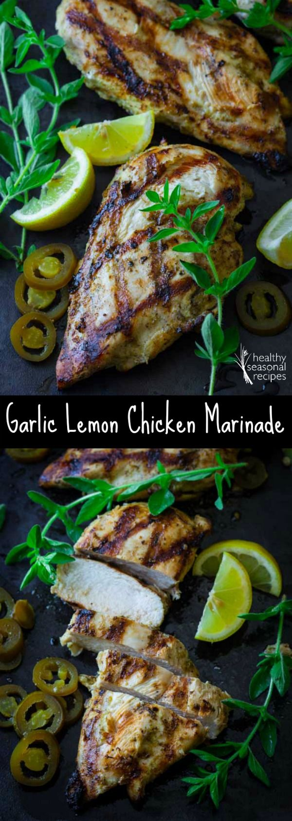 garlic lemon chicken marinade - Healthy Seasonal Recipes