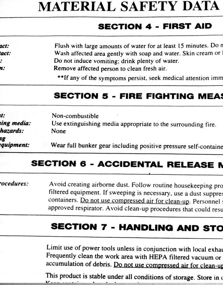 Personal Data Sheet format Fresh Safety Data Sheet in 2020