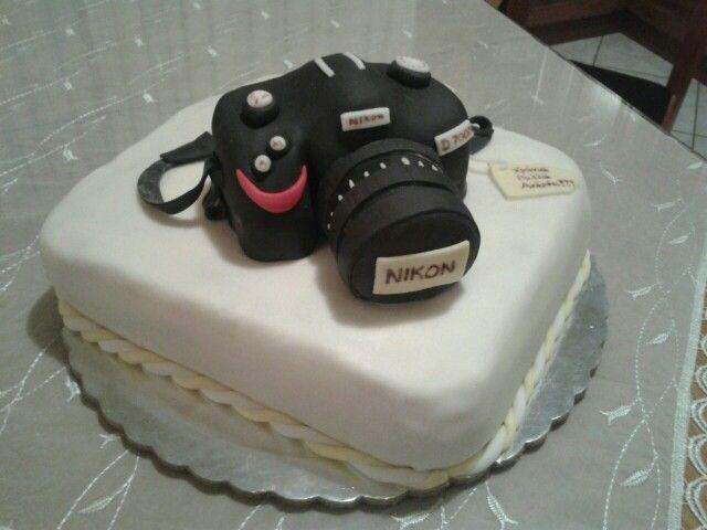 Nikon camera cake!!!
