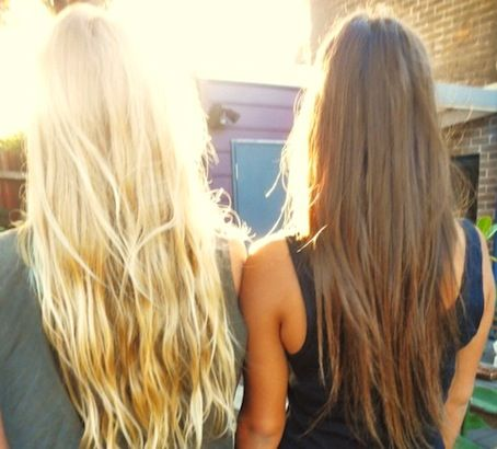 blonde VS brunette | bellaMUMMA
