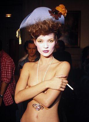 Harry Benson: Kate Moss, Paris, 1993. #JohnGalliano