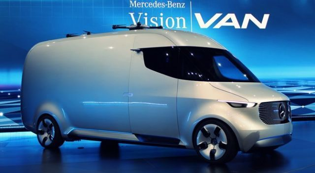 2021 Mercedes Benz Vision Van Review Specs Release Date And