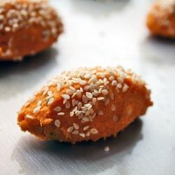 baked sweet potato falafel | Food to Make | Pinterest