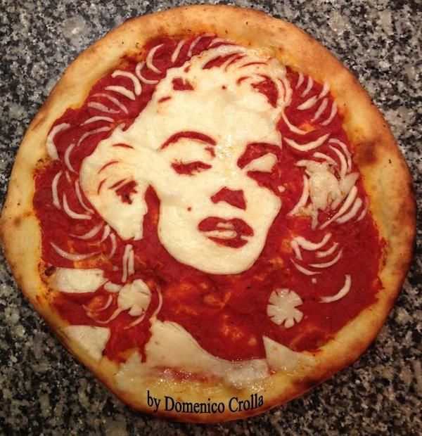 Marilyn Monroe - 'Paparazzi Pizza'