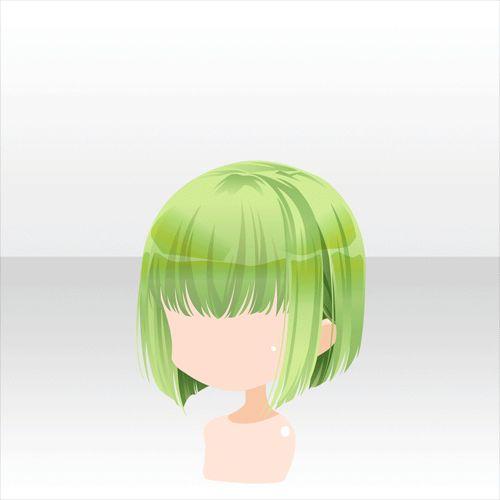 Green chibi