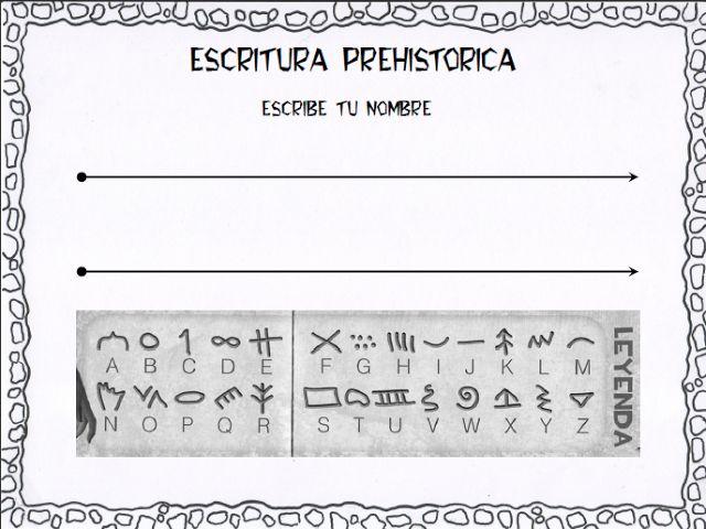 Proyecto La Prehistoria original (laclasedemiren.blogspot.com) - Miren Pardo - Álbumes web de Picasa