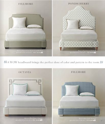Serena and Lily's beautiful, customizable beds and headboards