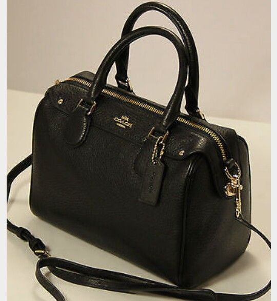 Coach Bennett large satchel in pebbled leather