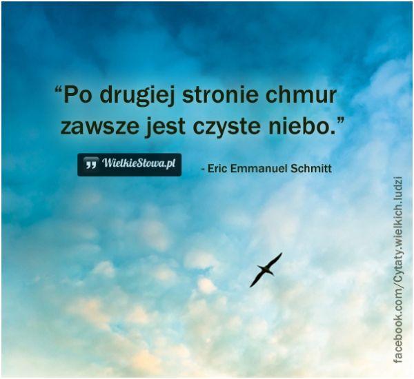 Po drugiej stronie chmur... #Schmitt-EricEmmanuel,  #Marzenia-i-pragnienia, #Różne