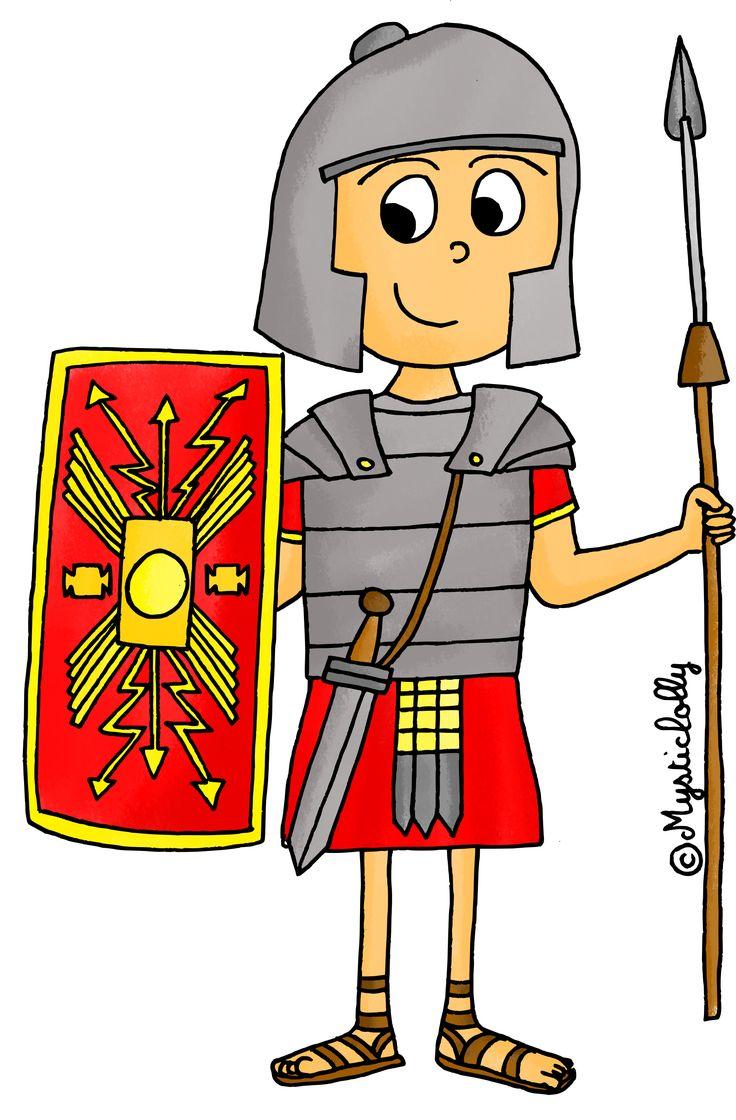 Histoire en dessins - l'Antiquité : le Romain
