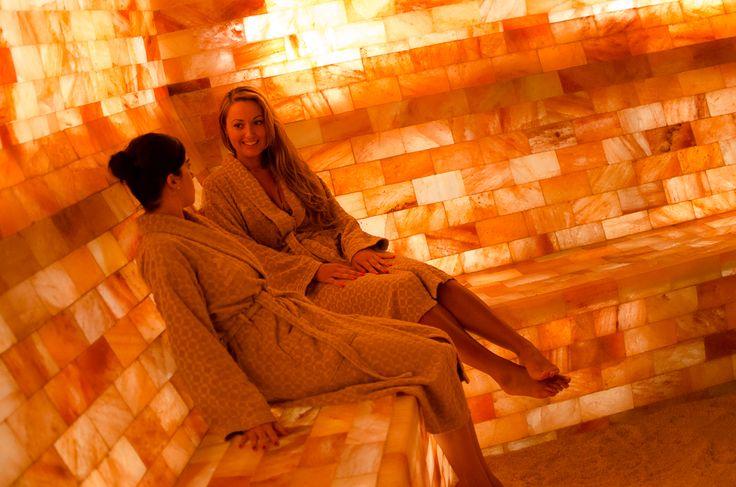 Himalayan salt cave Spa Kamper note : added salt blocks to my infra red sauna for similar benefits