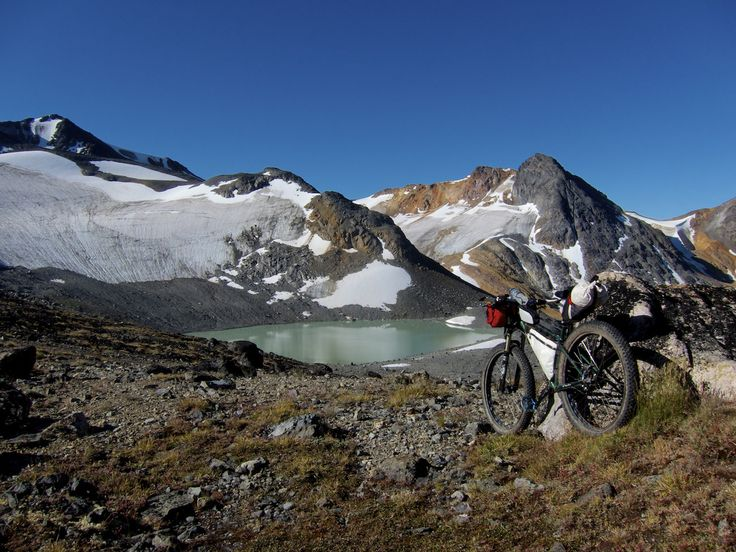 Bikepacking demystified! Learn how to plan and execute your first bike trip with these 5 essential bikepacking tips (Photo: Chilcotins bikepacking trip)