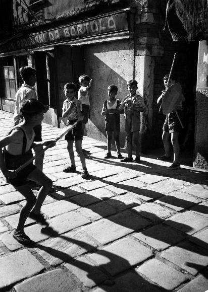 The Children of Venice, c.1950 - David Seymour