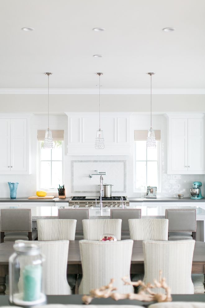 354 best jamie young in the home images on pinterest buffet lamps coastal kitchen with grey and white colour palette serene and crisp feel kitchen pendants aloadofball Image collections
