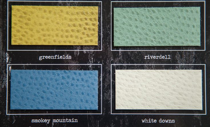 More soft faux ostrich leather covers