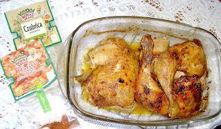 W Mojej Kuchni Lubię.. : z piekarnika uda kurczaka z czubricą i przyprawą h...