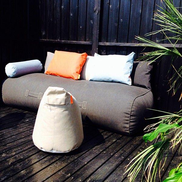 Die besten 25+ Outdoor kissen Ideen auf Pinterest Patio kissen - terrasse einrichten ideen pouf
