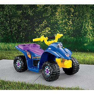 Check out the Power Wheels Lil' Quad (77760) at the official Fisher-Price website. Explore the world of Power Wheels today!