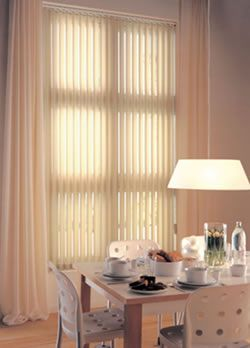 HANG CURTAINS OVER VERTICAL BLINDS   Curtain Design