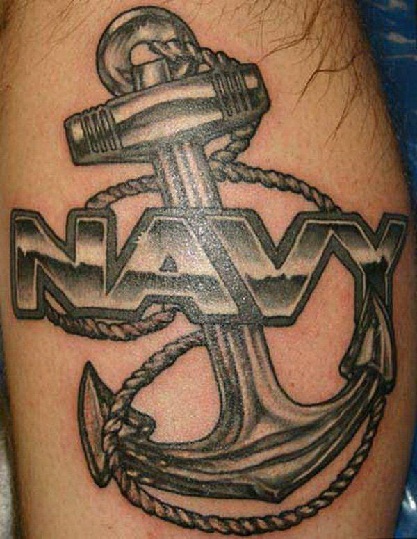 navi anchor tattoo design - 35 Awesome Anchor tattoo Designs  <3 !