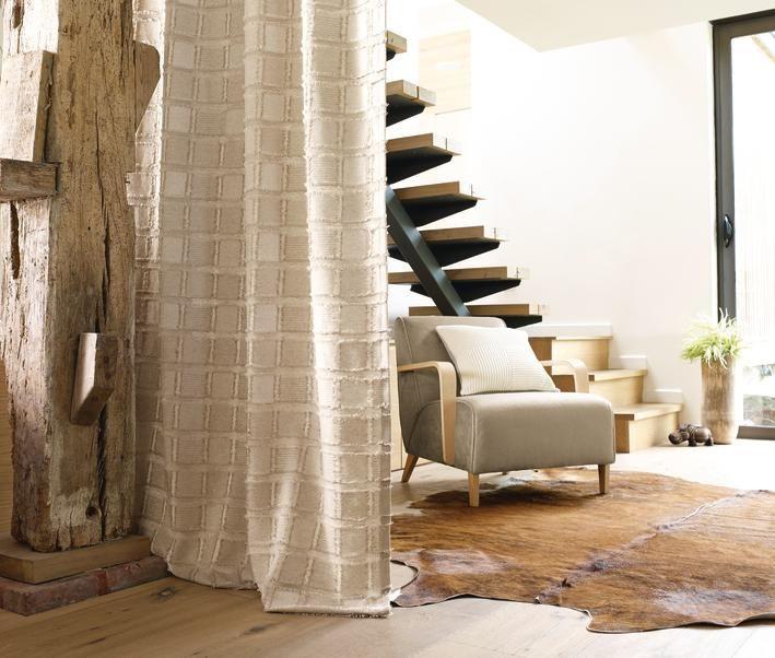Collection Nature - Expression du blanc et du lin - Sobre, coussins, élégance, fauteuil, rideaux