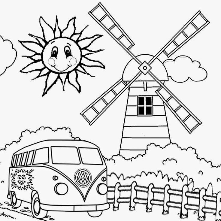 Free Coloring Pages Printable Pictures To Color Kids And Kindergarten Activities Art Sun Summer Print For