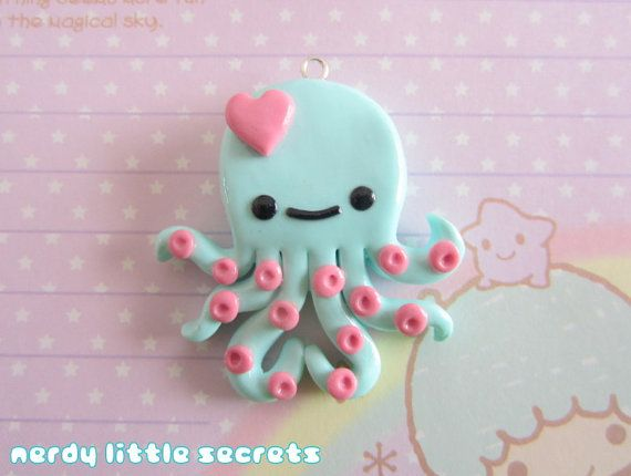 Hey, I found this really awesome Etsy listing at https://www.etsy.com/listing/116640096/kawaii-pastel-chibi-octopus-necklace