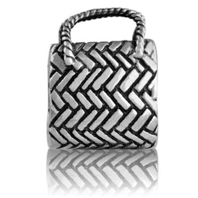 Evolve kete (treasures) silver charm at Charlton Jewellers, Auckland, New Zealand