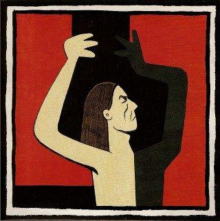 Marjane Satrapi / Iggy Pop : Les feuilles mortes (45 tours)
