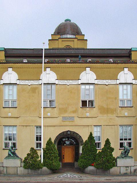 Villa Ensi, art nouveau building in Helsinki.
