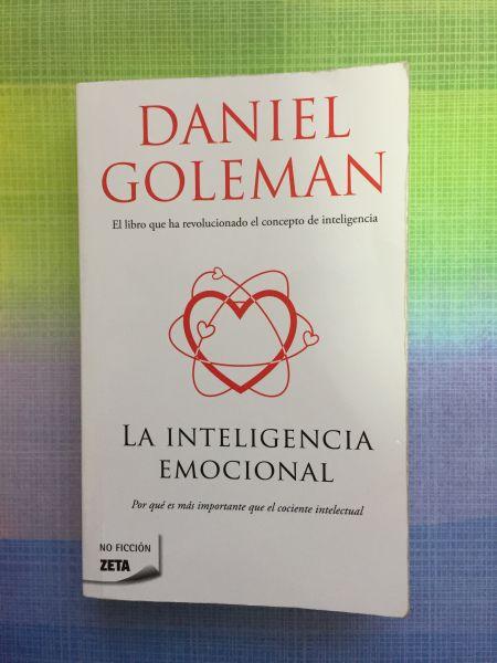 Libro La inteligencia emocional de Daniel Goleman