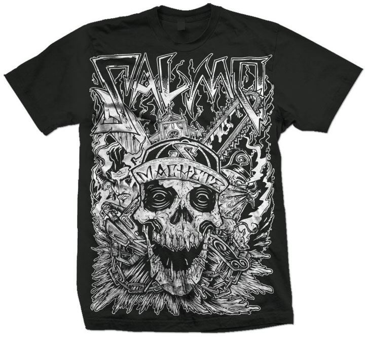 t-shirt salmo